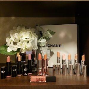 Nude lipsticks 14 pieces